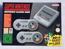 SUPER NINTENDO CLASSIC MINI NES NEUF Console Manette 21 Jeux