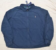 New 2XLT 2XL TALL POLO RALPH LAUREN Mens spring Jacket 2XT windbreaker navy coat