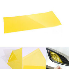 New Golden Yellow Headlight Tint Film Fog Tail Lights Tinting Car Wrap