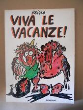 VIVA LE VACANZE Reiser Book a fumetti 1°edizione Bompiani 1980 [MZ6-3]