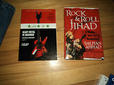 2 Music Books Rock & Roll Jihad Salman Ahmad Muslim Star Heavy Metal Baghdad