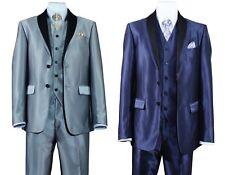 """Men's elegant suit set Jacket ,Pants and vest. 32.5"""" shark skin jacket 5702v5"""