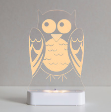 Brand new in box Aloka owl sleepylights multi coloured night light and remote