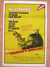 THE MUMMY'S SHROUD 1967 Vintage Horror Movie Poster Andre Morell David Buck