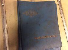Belzer Vanadium Tools Catalogue Folder SPANNER SOCKET etc