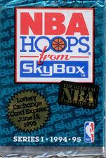 Skybox Hoops-1994-95-NBA-Trading Cards 11 Sealed Packs-Series-1