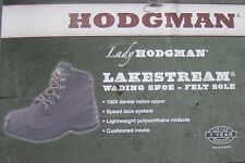 LADY HODGMAN LAKESTREAM WADING SHOE: SIZE 10