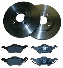 FORD FOCUS MK1 FRONT BRAKE DISCS + PADS 98-05 VENTED 100% QUALITY PARTS