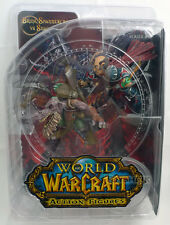 World of Warcraft S8 Gnome Rogue Brink Kobold Miner Snaggle Action Figure MINT