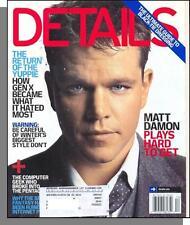 Details - 2006, December - Matt Damon Plays Hard To Get, Return of the Yuppie