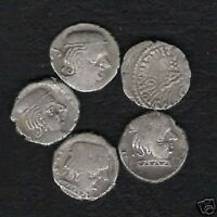 INDIA 100 AD. WESTERN SATRAPS x 10 Pcs Lot Deal SILVER COIN INDIAN CURRENCY