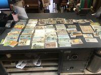 Huge Collectors Antique Vintage Lot Of Hundreds Post Cards All Mint!