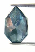 Rare 3.22TCW Pear Shape Green Blue Color Rose Cut Antique Natural Loose Diamond