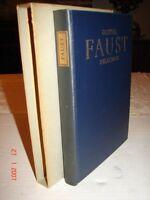 FAUST - Heritage Press - 1959 - Von Goethe - VGC - No Sandglass