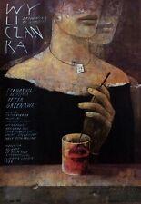 Polish poster by Wiktor Sadowski