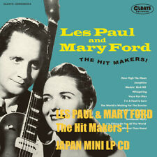 4BT LES PAUL & MARY FORD The Hit Makers!  JAPAN MINI LP CD