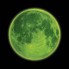 "Glow In The Dark Moon Beach Ball - Realistic Print 12"" Diameter"