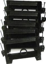 Arlington Lvn1 Low Voltage Mounting Bracket W/ Nails, 1-Gang, Black, 5-Pack