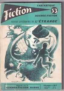 REVUE FICTION N°53. OPTA. 1958.