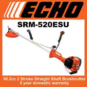 Echo SRM-520ESU Brushcutter, 50.5cc, 5 Year Warranty