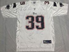 U8 New REEBOK New England Patriots Danny Woodhead White Jersey MEN'S L