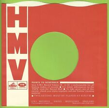 HMV (wavy top Morphy Richard) REPRODUCTION RECORD COMPANY SLEEVES - (pack of 10)