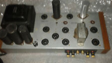 Conn  Stereo 2x20W tube power amp,working,7868 tubes,converted for home use