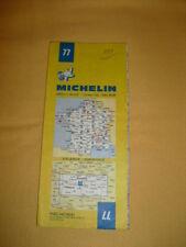 MICHELIN Carte Routière et Touristique N°77 Valence - Grenoble 1980