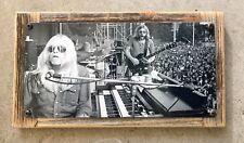 Gregg Duane Allman Brothers Band Georgia Vintage Photo Hammond B3 Metal Sign