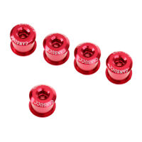Anodized Arm Fixing Bolt Bike Bicycle Crank Chainset Screw Axis For Shimano KW