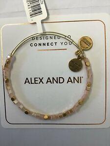 Alex and Ani Balance Bead Bracelet Carmel One Size, Rafaelian Gold...