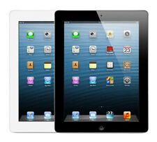 Apple iPad 4th Generation 16GB Wi-Fi Only / Wi-Fi+Cell 9.7 inches Black/ White