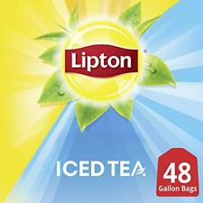 Lipton Iced Tea Bags Picked At The Peak of Freshness Unsweetened 48 oz 48 Count