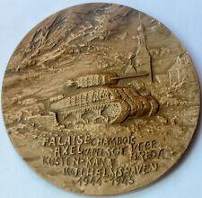 General Maczek, Medal 1987, Battle of Falaise, Chambois, Normandy WWII, 70 mm