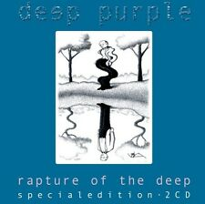 RARE DOUBLE CD COLLECTOR ÉDITION SPÉCIALE DEEP PURPLE / RAPTURE OF THE DEEP