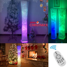 Colour Changing LED Floor Lamp Fabric Modern Remote Control for Living Room UK