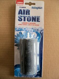 "Active Aqua Air Stone, Cylinder, Large, 2"" x 4"" x 1/4"" - oxygen diffuser"