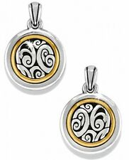 Brighton Spin Master Round Post Drop Earrings - JE9071 - Silver Plated