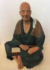 "Hakata Urasaki Doll 7 3/4"" Wool Sheep Farmer Vintage"