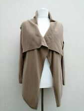 CAMEL CASHMERE GAP NEW QUIRKY LAGENLOOK COLLARED CARDIGAN JACKET XL SIZE 18/20