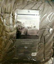 Wamsutta 500-Thread-Count PimaCott   King Comforter Set STRIPE GREY