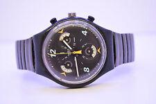 Swatch Chronograph CD-PLAYER SCB120 Armbanduhr herren Selten 1997 Retro