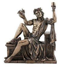 Veronese Bronze Figurine Greek God of Wine Dionysus grape vine Mythology