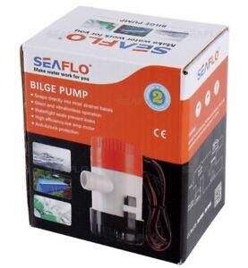 Seaflo ® Bilgepumpe Bilgenpumpe Lenzpumpe Abwasserpumpe 12V / Serie 01 / Boot