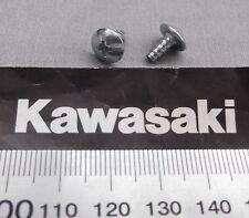 Genuine Kawasaki Phillips Cabeza Auto-Roscado Tornillo BPZ 4x8mm 92009-1155 2-Pack