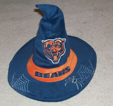 Old CHICAGO BEARS Halloween Witch Hat - Soldier Field NFL promo - Uncommon 48110f852
