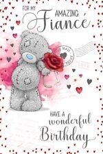 For My Amazing FIANCE  - Medium -Tatty Teddy Me to You - Birthday Card