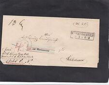 Bedarfsbrief-Briefmarken aus dem altdeutschen Preußen (bis 1945)