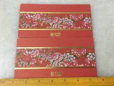 (JC) 2 pcs set RED PACKET (ANG POW) - UOB (8)