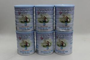 NANNY CARE Ages 1-3 Stage Three Growing Up Goat Based Milk Baby 900g X6 NEW